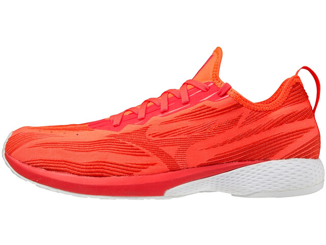 Mizuno Wave Aero 19 Shoes ignition red/fiery red/white